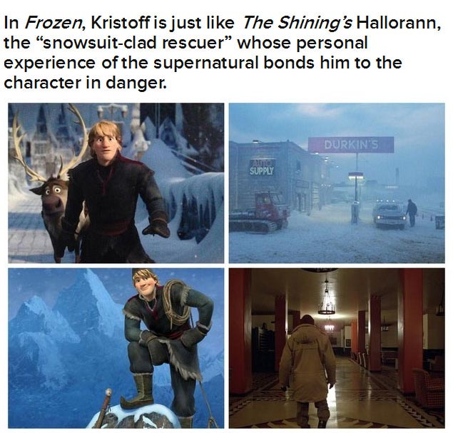 "Are ""Frozen"" And ""The Shining"" The Same Movie? (10 pics)"