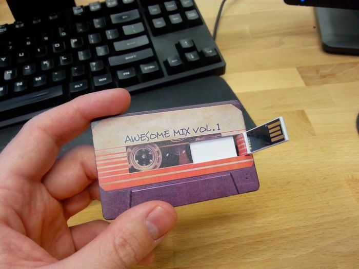 Guy Passes Out Guardians Of The Galaxy Mix Tape For Halloween (6 pics)