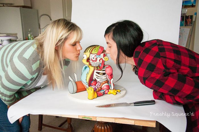 Ralph From The Simpsons Has Been Turned In A Cake And It's Creepy (20 pics)