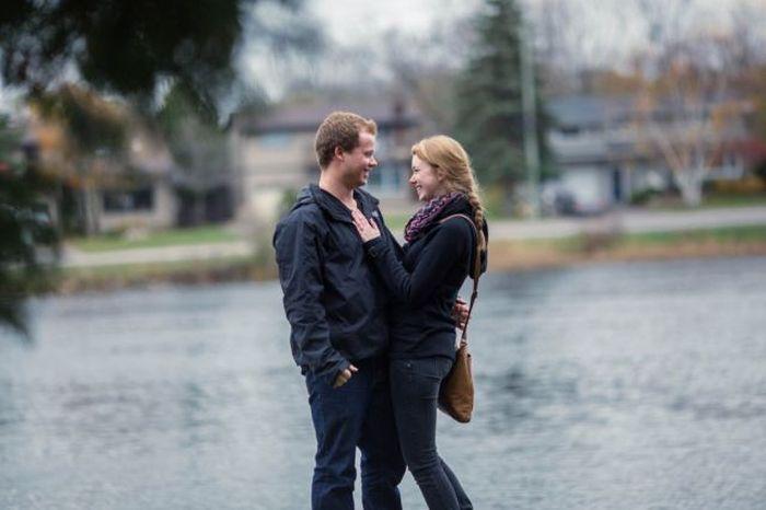 This Secret Engagement Photo Shoot Is A Great Idea (13 pics)