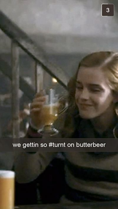If Harry Potter Characters Used Snapchat (27 pics)