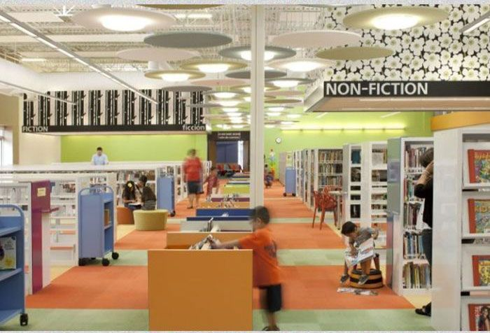 Texas Town Turned Their Abandoned Wal-Mart Into A Library (11 pics)