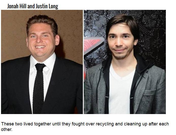 Famous Actors That Had Famous Roommates (14 pics)