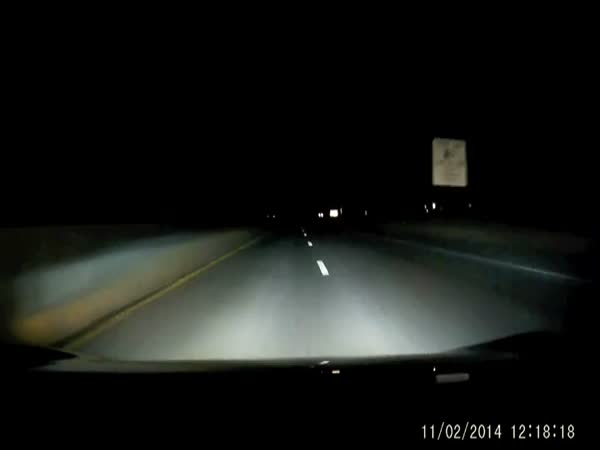 Scary Late Night Roadblock in New Jersey