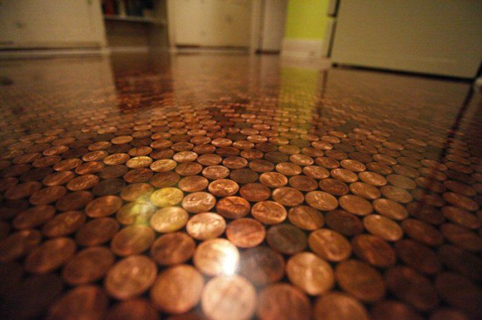 This Floor Is Completely Made Of Coins (14 pics)