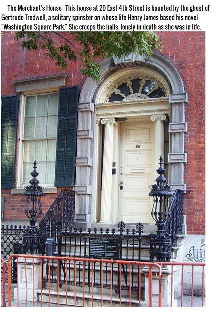 New York City's 5 Most Haunted Houses (9 pics)