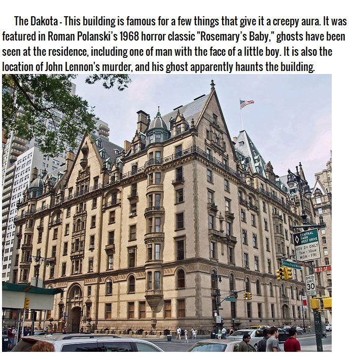 New York City's 5 Most Haunted Houses (9 Pics