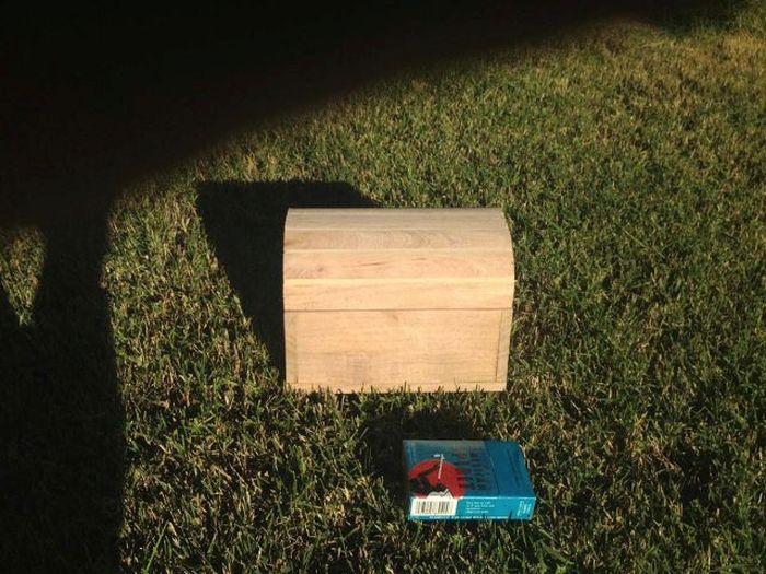 How To Nail Your Marriage Proposal With A Homemade Treasure Chest (28 pics)