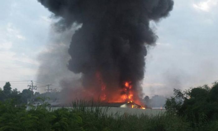 Bitcoin Farm In Thailand Burns To The Ground (15 pics)