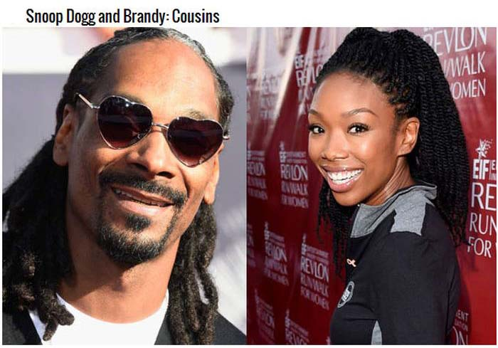 Celebrities You Never Knew Were Related (16 pics)