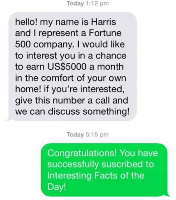 This Guy Trolls A Text Spammer And Completely Turns The Tables (7 pics)