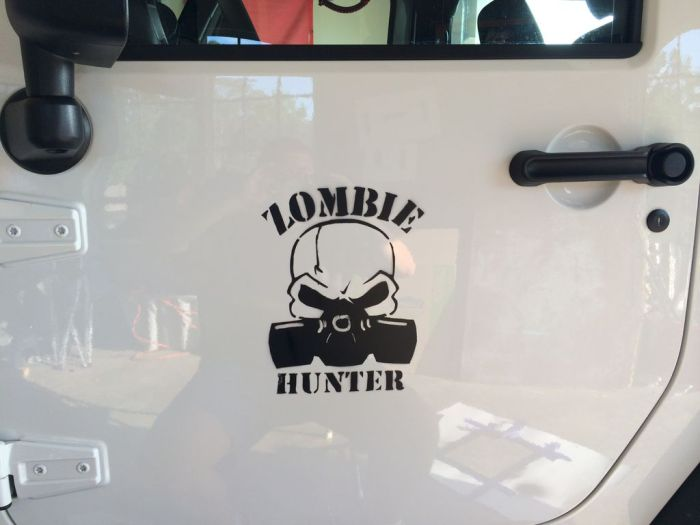 This Car Was Built For Zombie Hunting (14 pics)