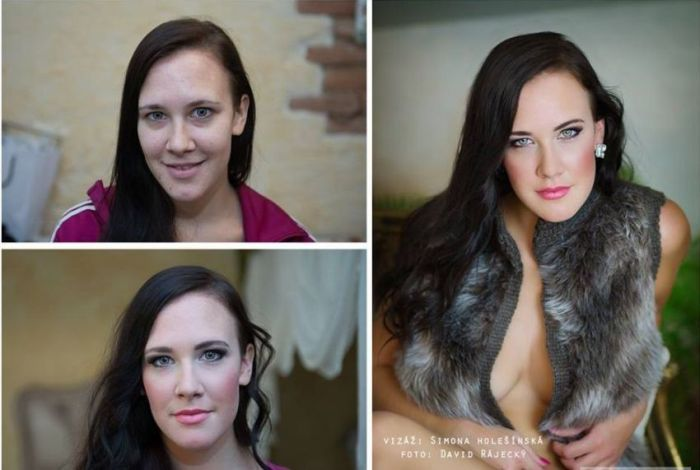 Makeup Helps People Make Powerful Transformations (23 pics)