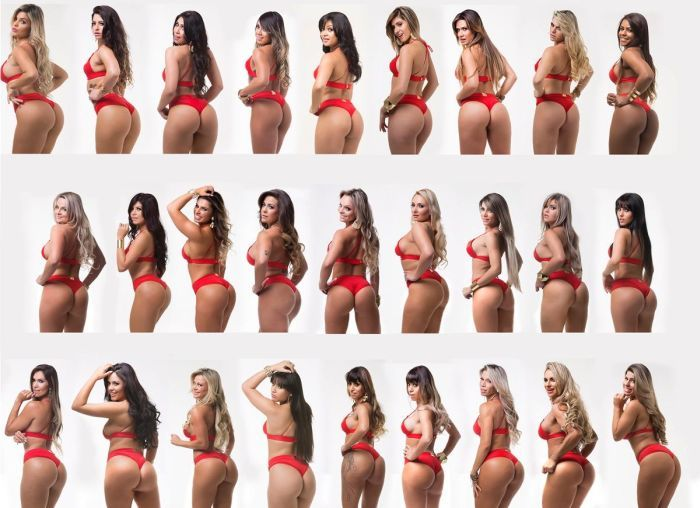 The Lovely Contestants From Miss Butt Brazil 2014 (13 pics)