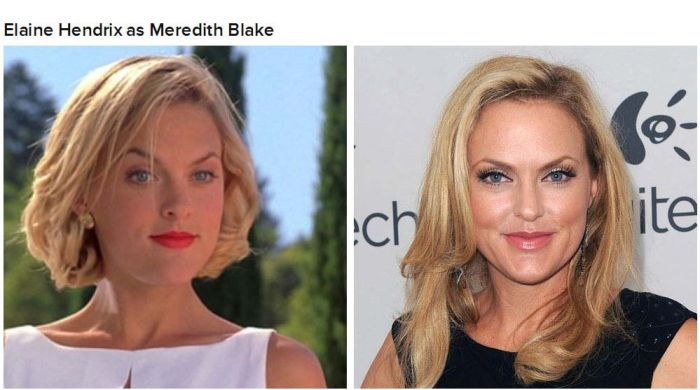 """The Cast Of """"The Parent Trap"""" Back In The Day And Today (9 pics)"""
