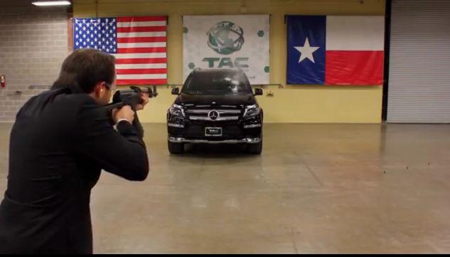 AK-47 vs a Mercedes Benz