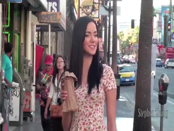 Social Experiment: Drunk Girl in Public