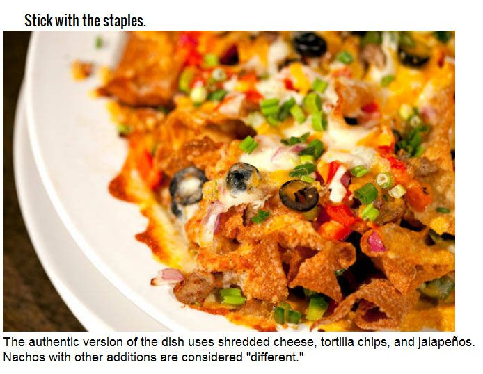 Facts You Never Knew About Nachos (14 pics)