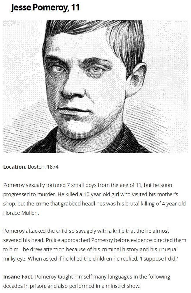 The Most Brutal Murders Ever Committed By Children (6 pics)
