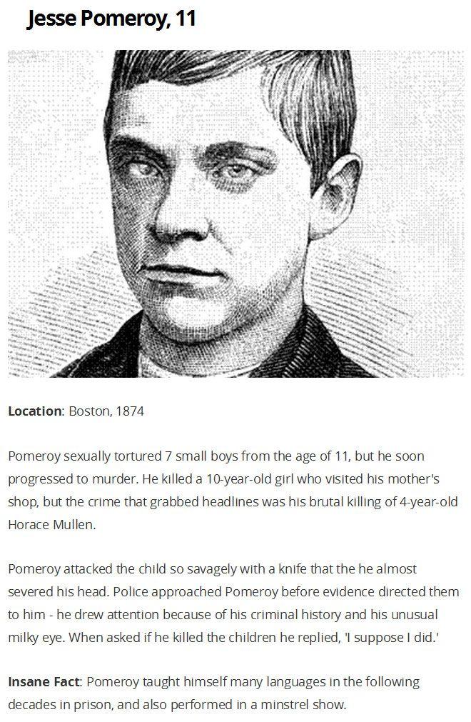 Οι πιο άγριες δολοφονίες ποτέ διαπράχθηκαν από παιδιά (6 φωτογραφίες)
