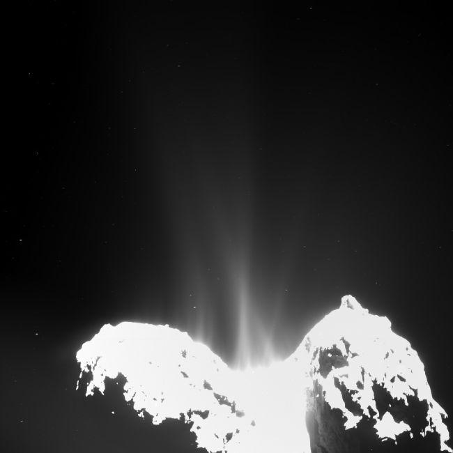 The Rosetta Probe Finally Lands On A Comet (23 pics)