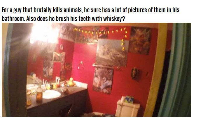 Disturbing Photos From Inside A Murderer's Home (12 pics)