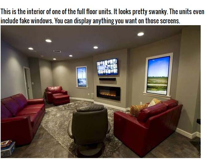 Survive The Apocalypse By Moving Into One Of These Condos (13 pics)