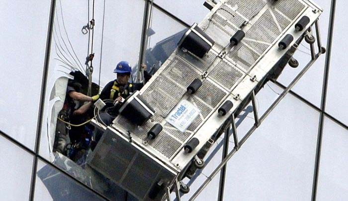 Dramatic Rescue At The World Trade Center In New York (5 pics)