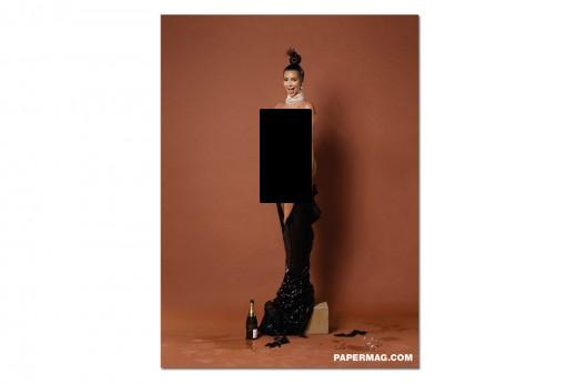 Kim Kardashian 'Paper' Photos (4 pics)