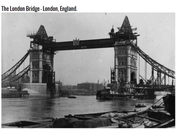 Pictures Of Famous Landmarks Before They Were Finished (7 pics)