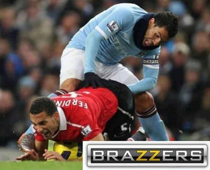 Proof That The Brazzers Logo Can Make Any Picture Look Dirty (34 pics)
