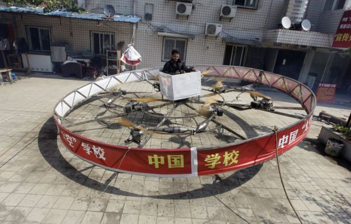 Ordinary Chinese People That Have Created Incredible Inventions (60 pics)