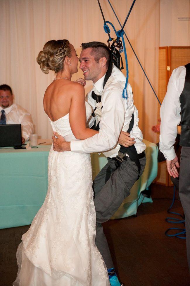 Paralyzed Groom Dances With His Bride (8 pics)
