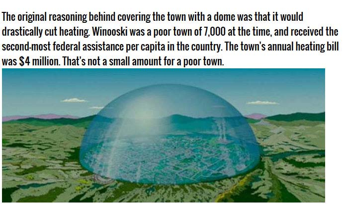 The Vermont Town That Wanted To Go Under The Dome (6 pics)