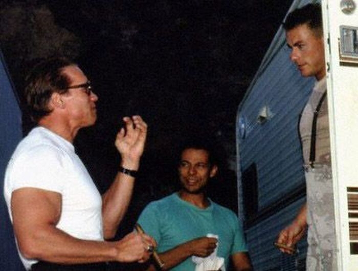 An Inside Look At The Making Of Universal Soldier (37 pics)