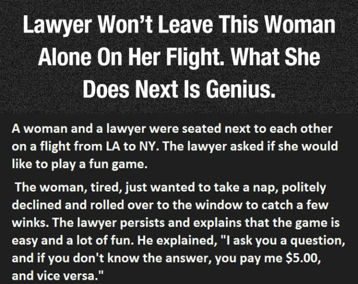 The Best Way To Deal With Annoying Lawyers (3 pics)