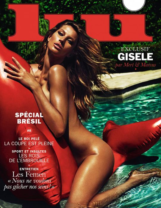 Sexy Celebs Posing Nude On The Covers Of Popular Magazines (21 pics)