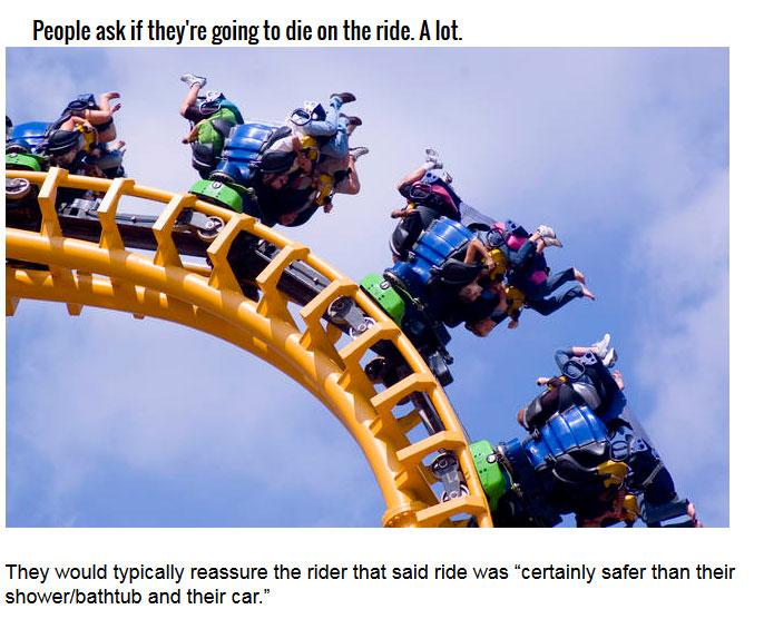 The Horrible Truth About Amusement Parks (8 pics)