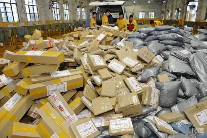 Inside Chinese Postal Service (28 pics)