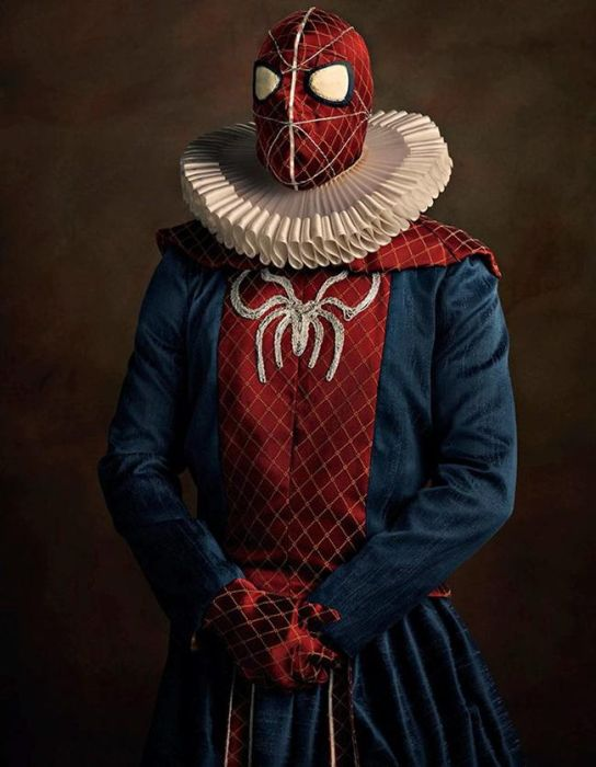 If Superheroes Existed In The 16th Century (17 pics)