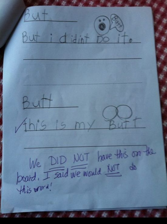 When Kids Decide Their Homework Is Boring (28 pics)
