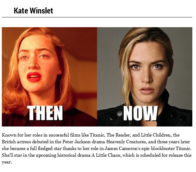 20 Celebrities In 1994 And In 2014 (20 pics)