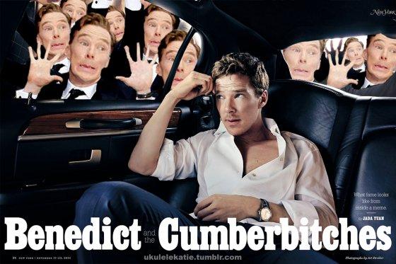Benedict Cumberbatch Gets The Meme Treatment (13 pics)