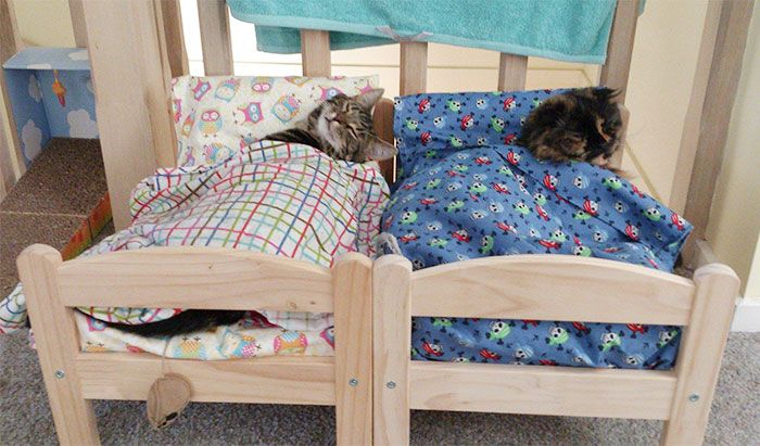 A Great Use For IKEA Doll Beds (15 pics)