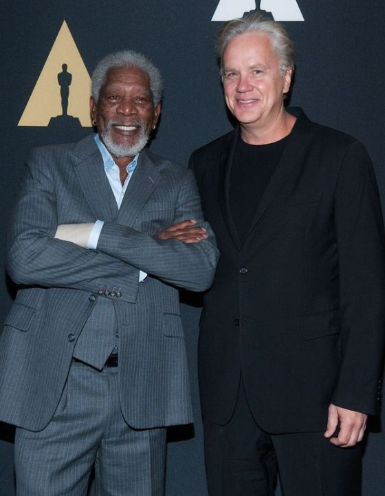 Andy And Red From The Shawshank Redemption Then And Now (2 pics)