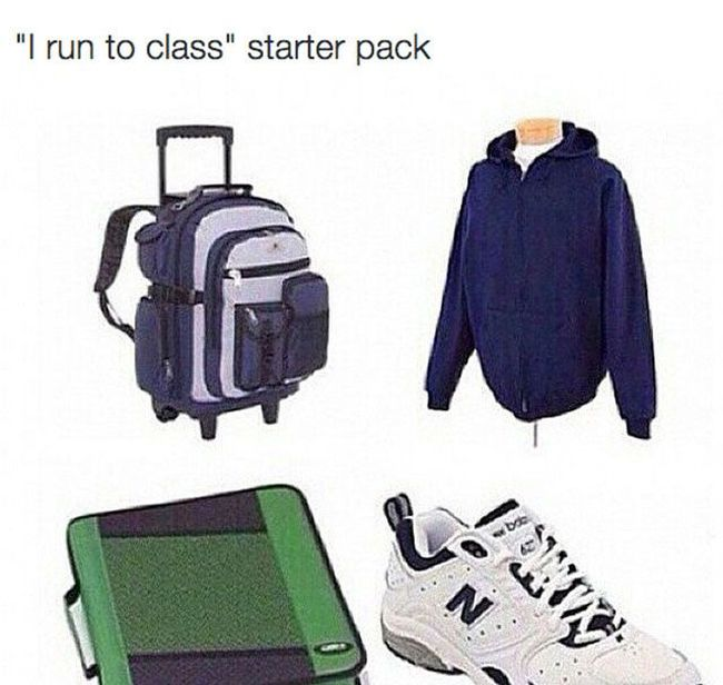 16 Starter Packs To Help You Fit In With The Right Group (16 pics)
