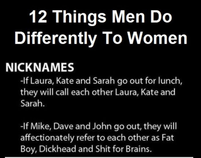 The Differences Between Men And Women Explained (6 pics)