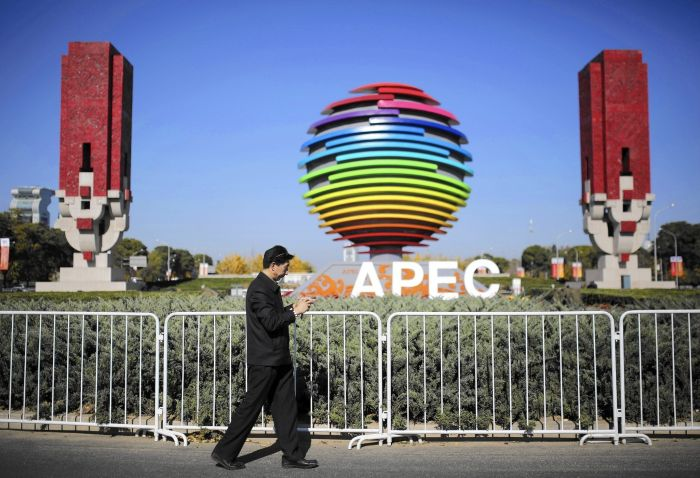 Air Quality In China During APEC And After APEC (2 pics)