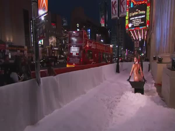 Jimmy Kimmel Live Kim Kardashian Snowblower