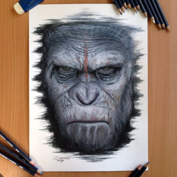 Dino Tomic's Art Looks So Real (26 pics)